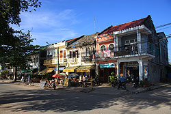 French Quarter in Kampot - Kambodscha